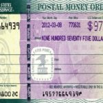 example of a money order
