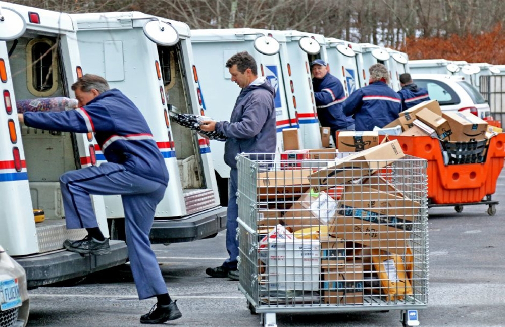blame usps workers for usps' financial troubles, or address the pre-funding issue?