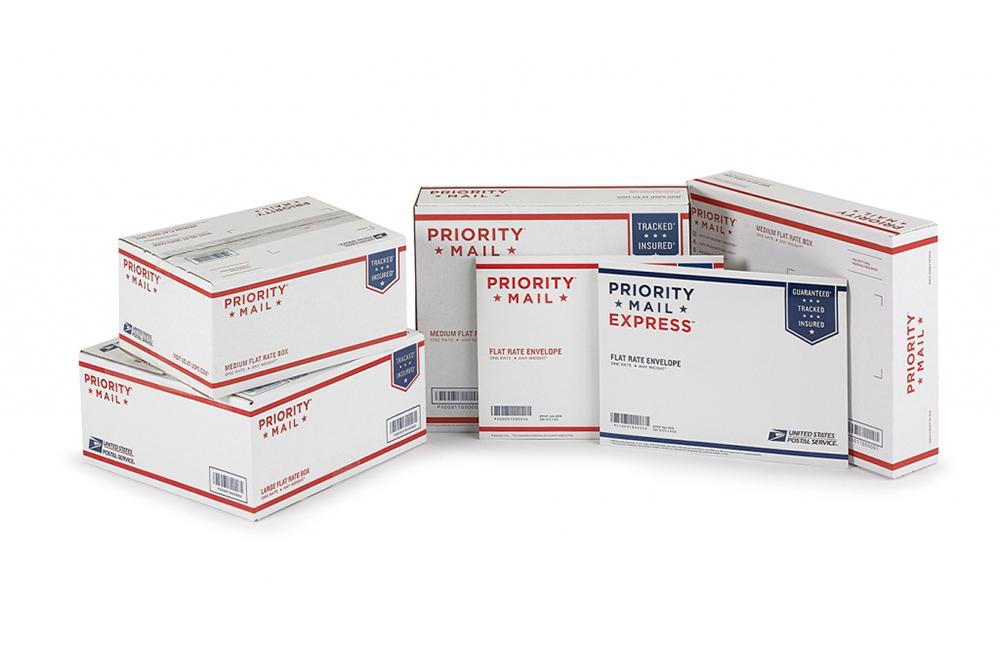 USPS branded boxes