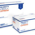 USPS priority mail express boxes