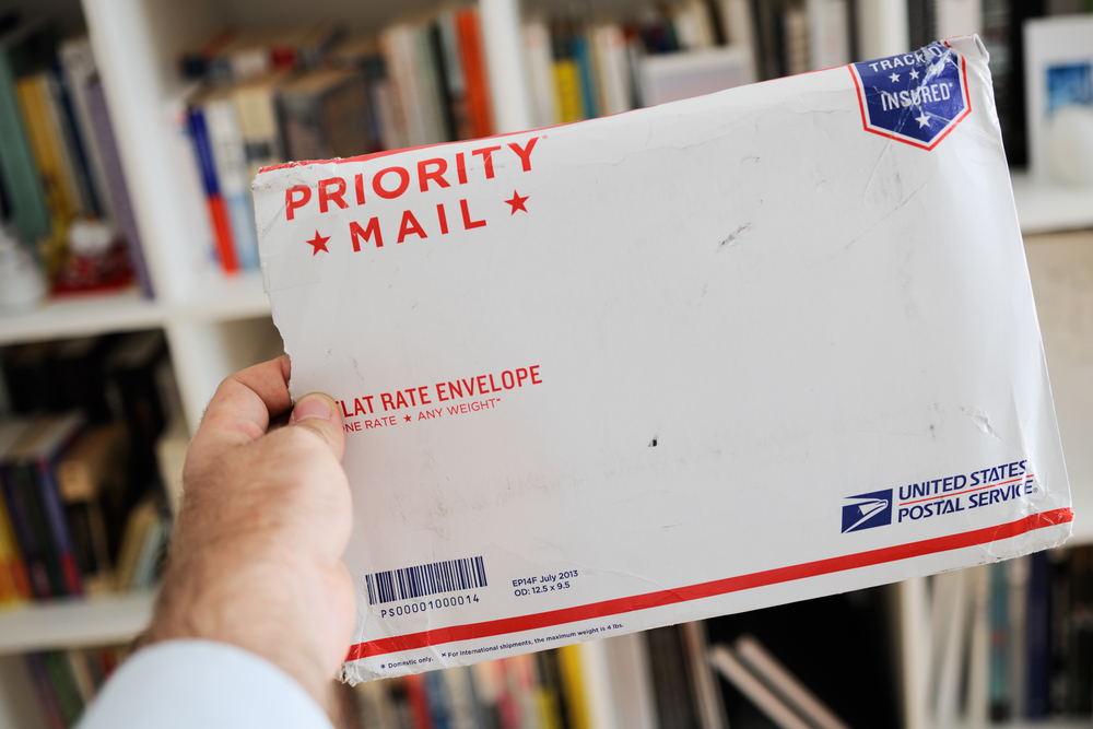 USPS Priority Mail Flat Rate