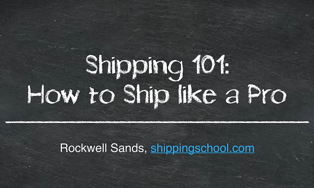 How to Ship Like a Pro