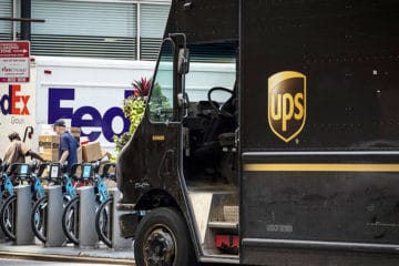 UPS and FedEx face delivery van shortage
